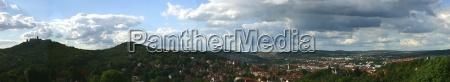 wartburg eisenach panorama