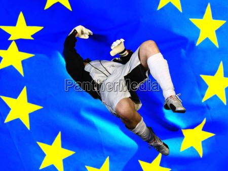 im fall vor europaflagge