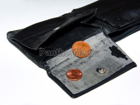 ebbe im portemonnaie