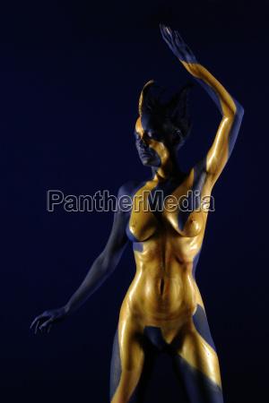 goldener torso