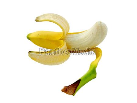 geschälte, banane - 409676