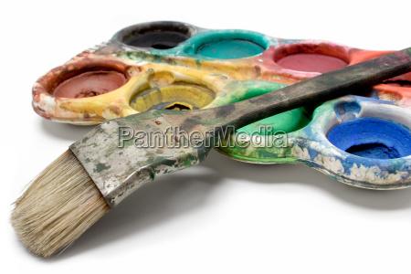 schmutzige wasserfarben