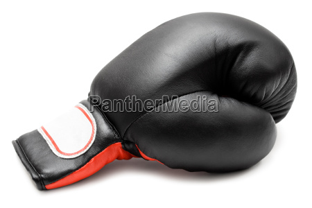 einzelner boxhandschuh