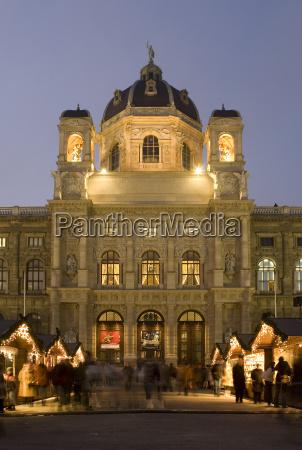 weihnachtsmarkt naturhistorisches museum