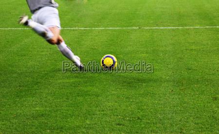 ball sportsman goalkeeper kickoff kicker sport