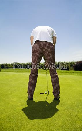 sport ball loch golfen golfspiel golfspieler