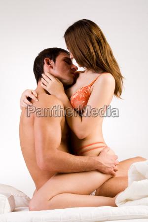 sweet hugging couple
