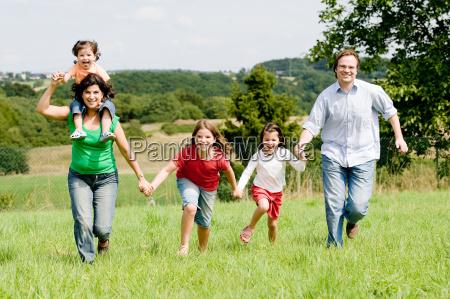 rennende, familie - 1489847