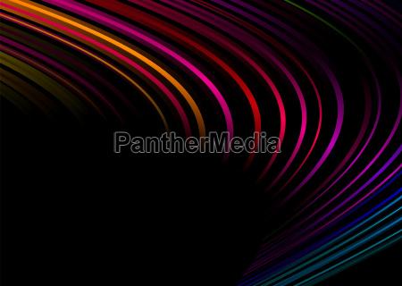 rainbow corner black