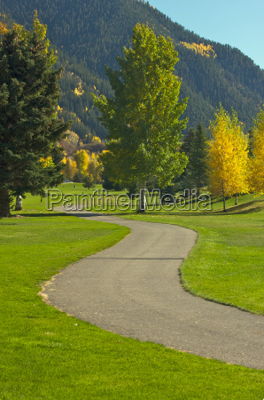 aspen golf course as the aspen