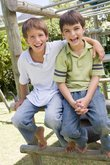 two young male friends at a