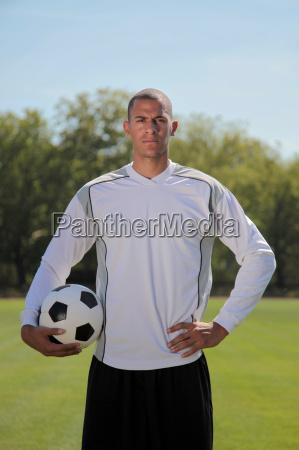 professional goalkeeper