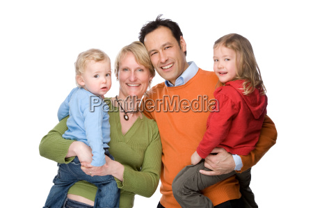 glueckliche familie