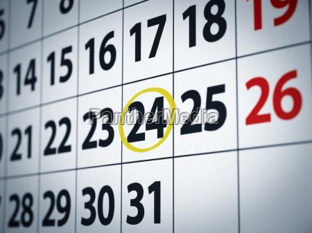 datum am 24