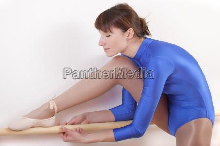ballet dancer stretches