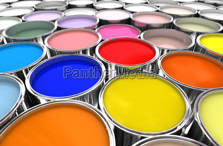 color paint ink can