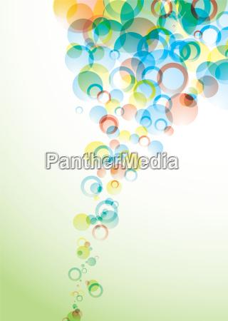bubble float pastel