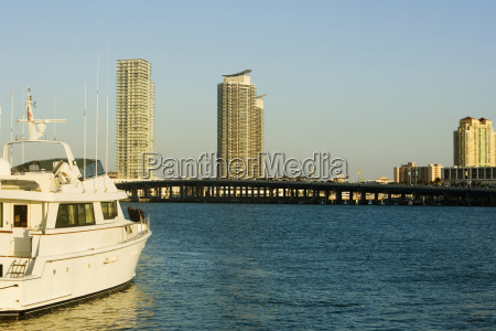 boat in the sea miami florida