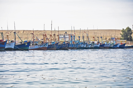 boats moored at a harbor chaco