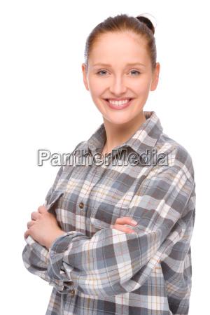 junge handwerkerin