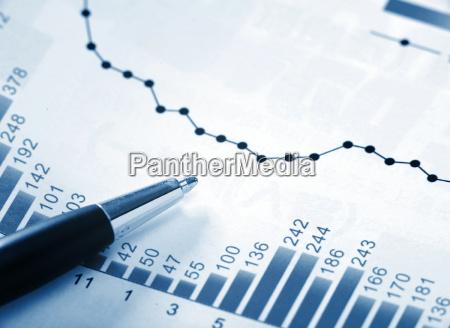 finanz diagramm