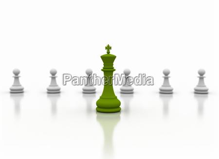green leader