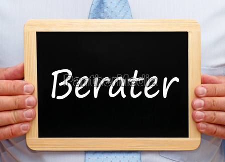 berater business konzept