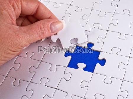 das fehlende puzzle teil