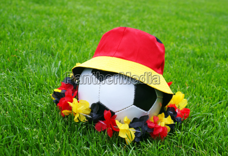 fussball fanartikel concept soccer