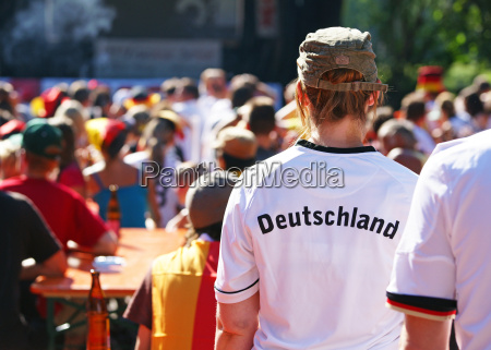 public viewing deutsche fans