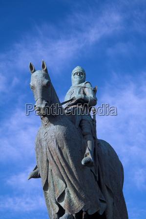 robert bruce monument bannockburn scotland