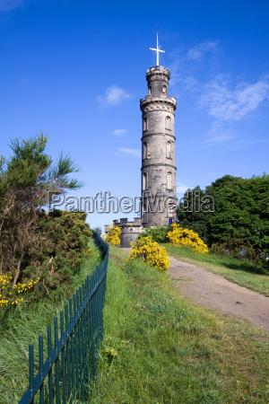 nelson039s monument calton hill edinburgh