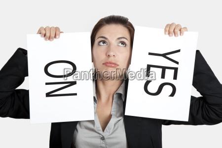 ja oder nein wahl
