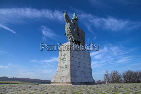 robert bruce monument bannockburn scotland