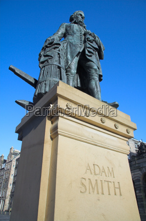 adam smith royal mile edinburgh scotland