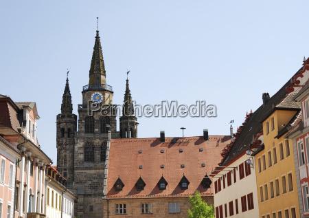 turm religion kirche bayern deutschland brd