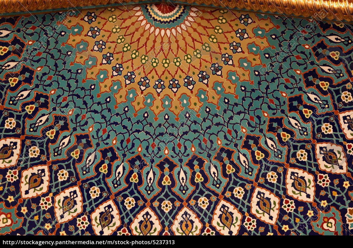 Orientalische mosaik ornamente   lizenzfreies bild   #5237313 ...