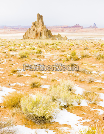 winter landscape of arizona usa