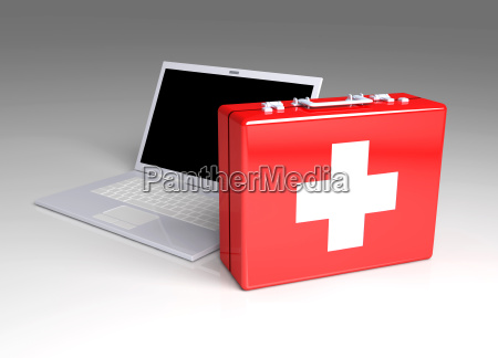 laptop first aid