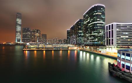 kowloon night view