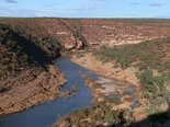 blick auf den murchison river im