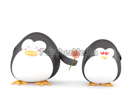 penguin, in, love - 6179626