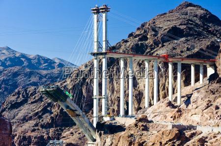 bridge over hoover dam arizona nevada