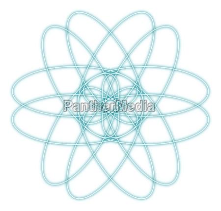abstrakt medizin radiologie symbol