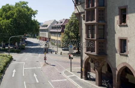 city view of freiburg im breisgau