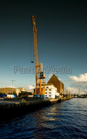 shipyard in kolobrzeg