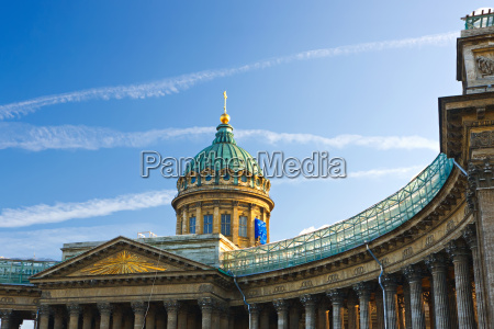kazan cathedral st petersburg russia
