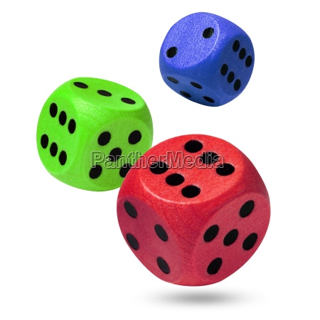 red green and blue wooden rolling