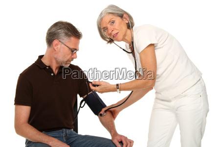 arzt, mediziner, medikus, frau, menschen, leute - 7801071