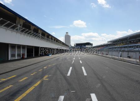 pit lane in hockenheim